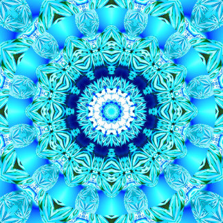Blue Ice Glass