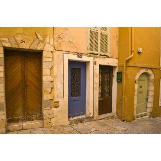 France, Provence, Villafranche. Four colorful