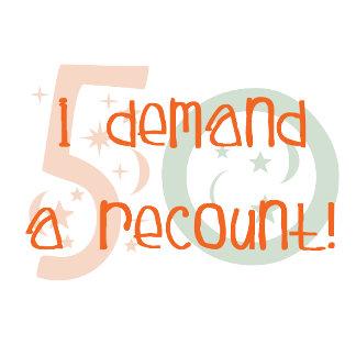 50th birthday Recount