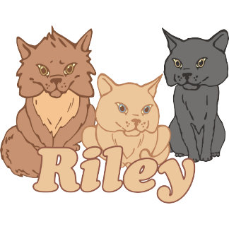 Personalized Riley Cat Lover