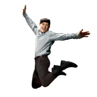 High School Musical's Ryan Evans jumping
