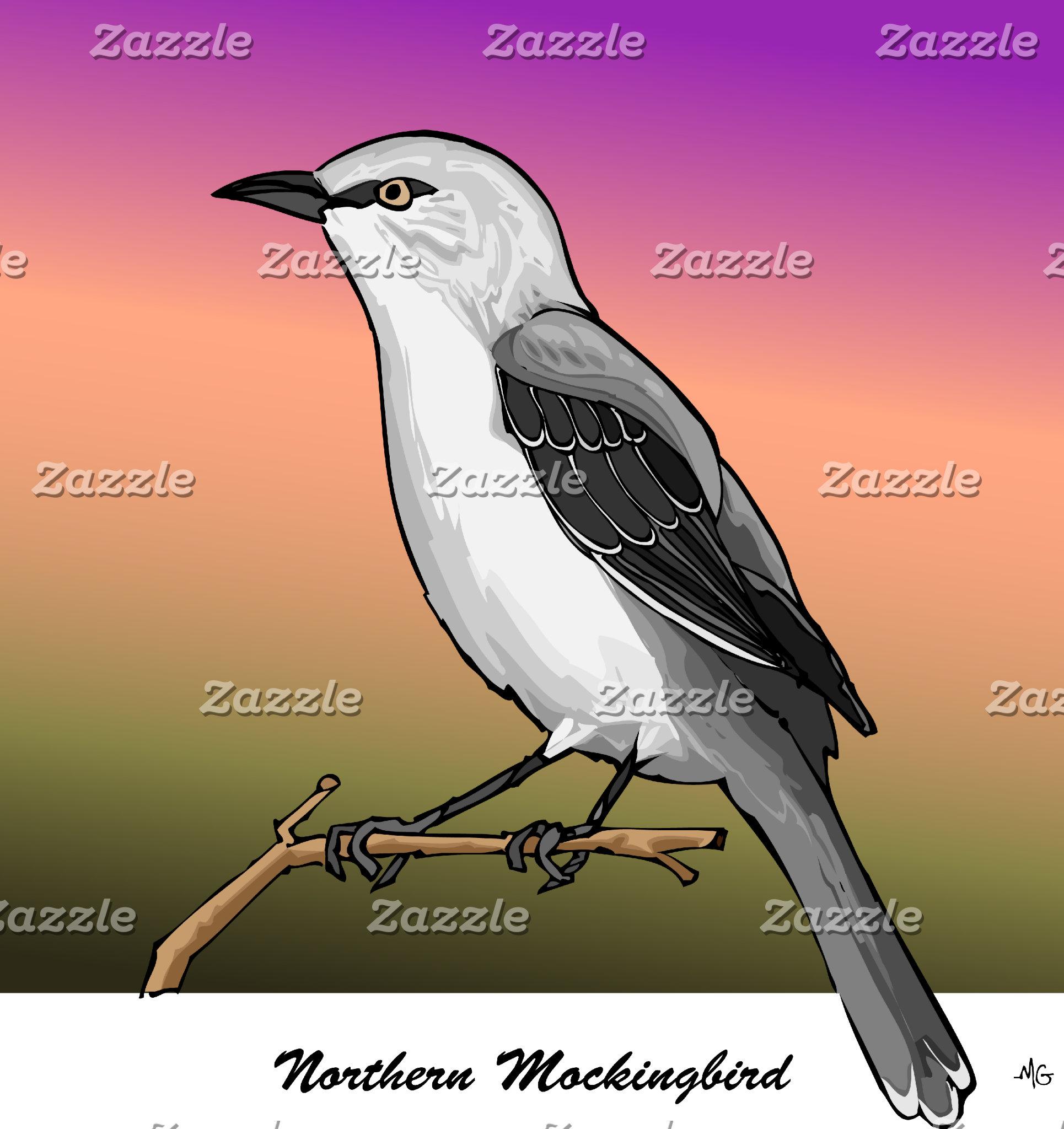 NORTHERN MOCKINGBIRD rev.2.0