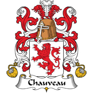 Chauveau Family Crest