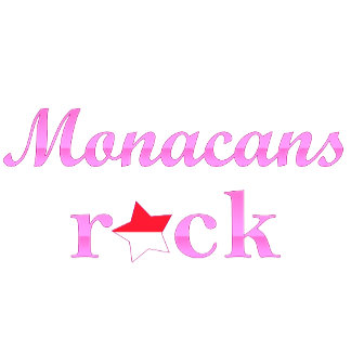 Monacans Rock - Cute Pink