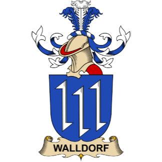 Walldorf Family Crest