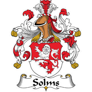Solms Family Crest