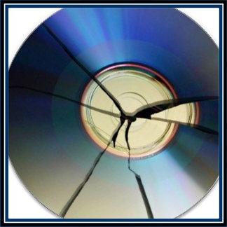 Cracked CD