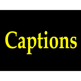 Caption t-shirts and apparel