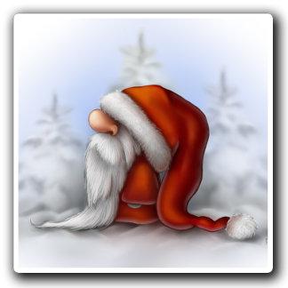 Little Santa in the snow