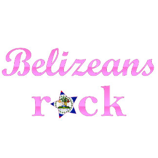 Belizeans Rock - Cute Pink