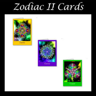 Zodiac Cards II