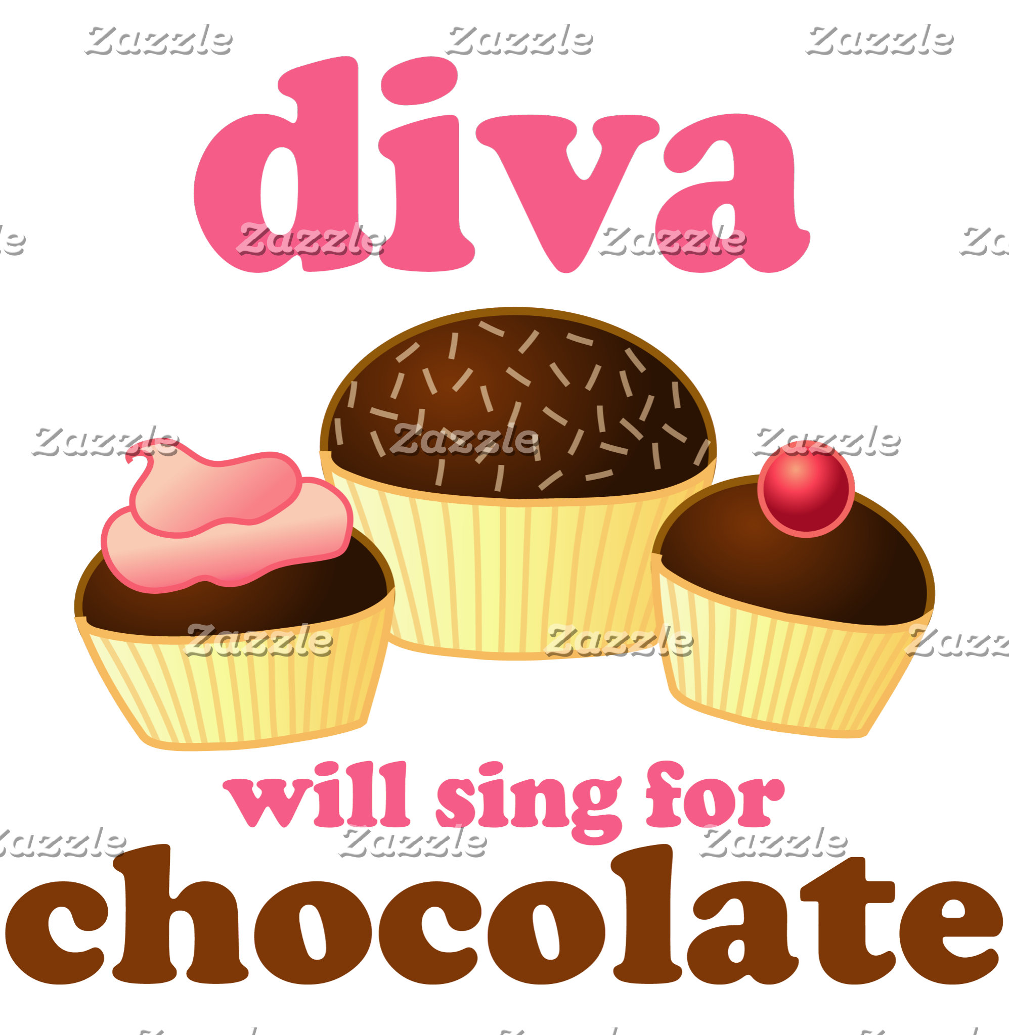 Diva Will Sing For Chocolate