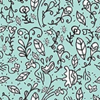 Blue Flower Lace