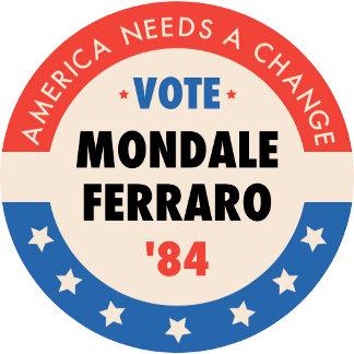 Vote Mondale '84