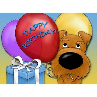 Irish Terrier - Rappy Rirthday!
