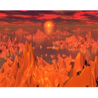 Space Islands of Orange