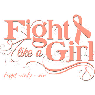 Endometrial Cancer Fight Like A Girl Elegant