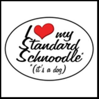 It's a Dog! I Love My Standard Schnoodle