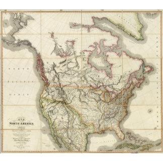 Map of North America 4