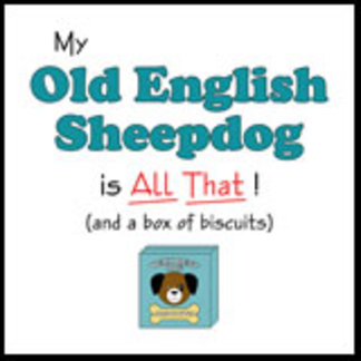 My Old English Sheepdog is All That!