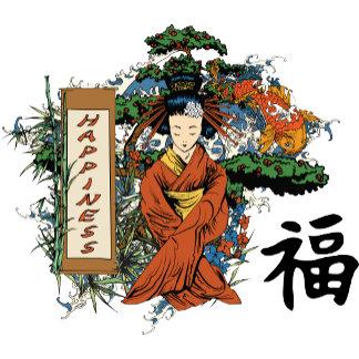 Japanese Happiness Character ~ Geisha
