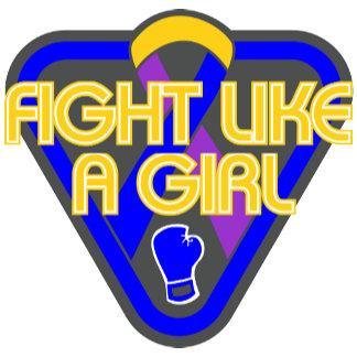 Bladder Cancer Fight Like A Girl Glove