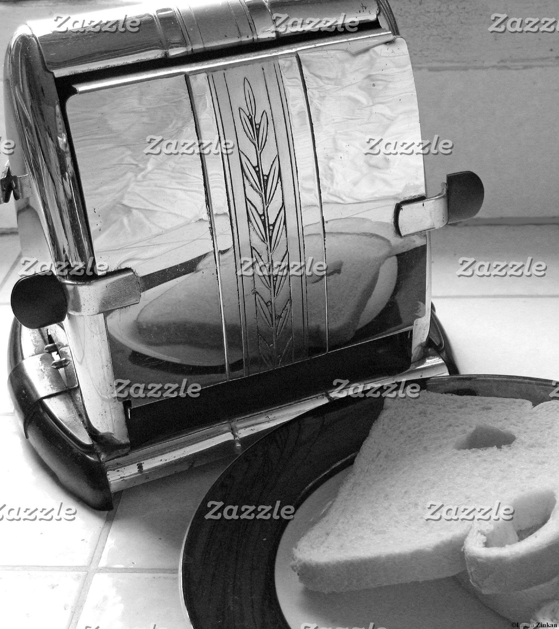 Vintage Toaster Kitchen Art Photography