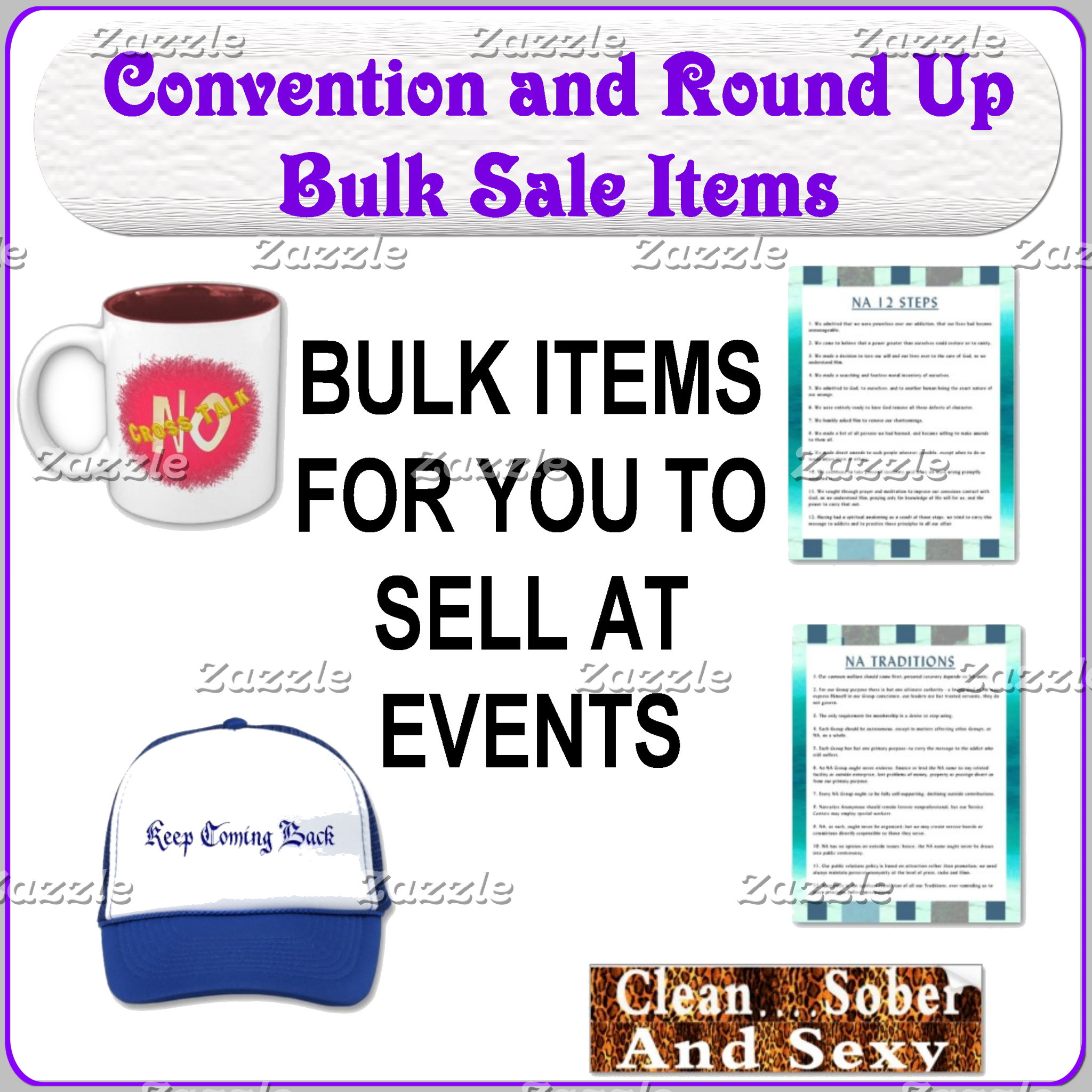 NEW NEW NEW!!Convention and Roundup Products