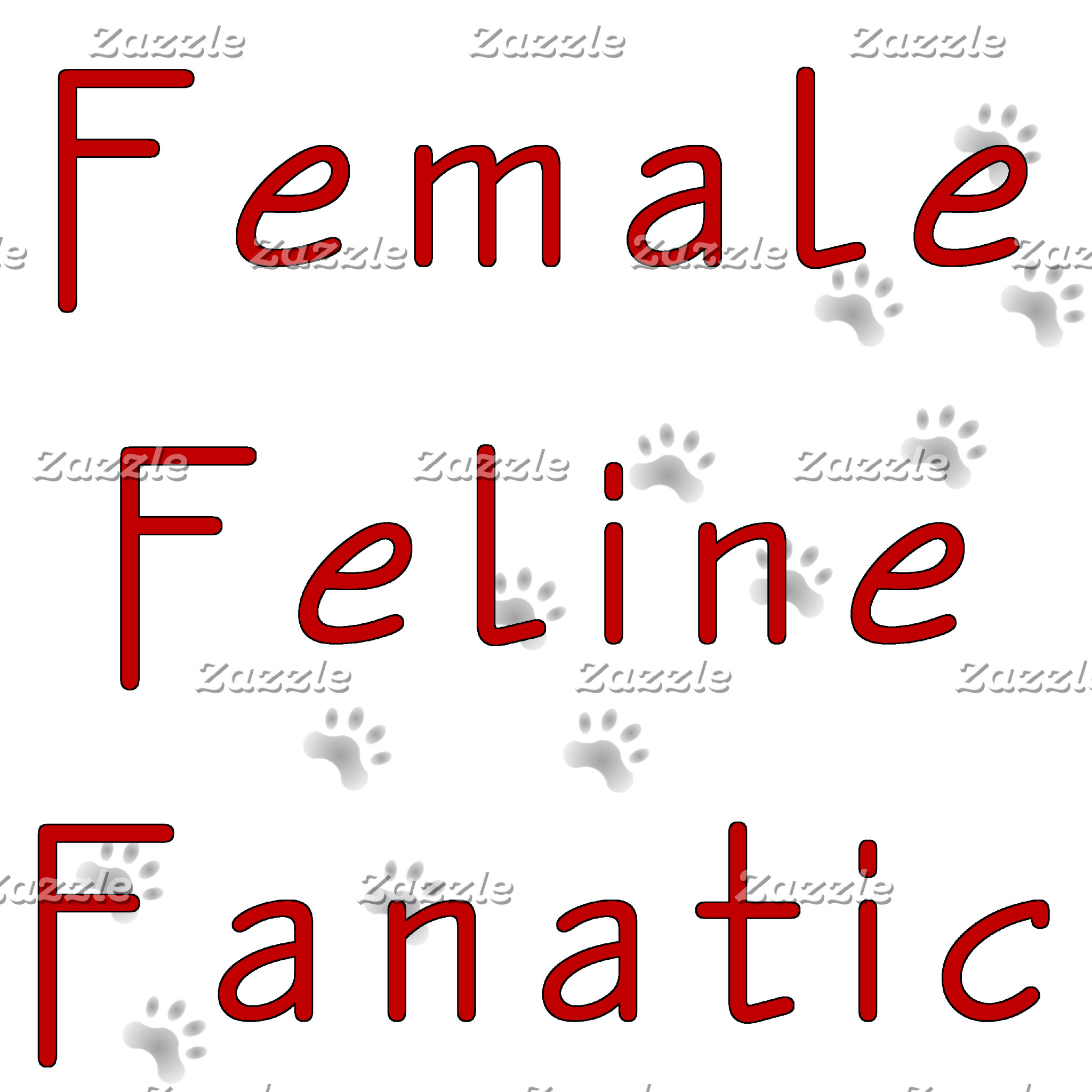 Female Feline Fanatic