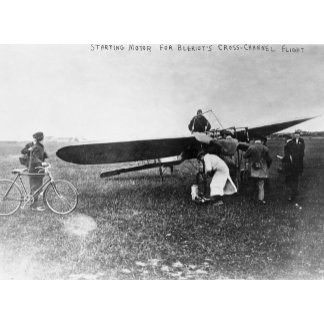 Before Belriot's Flight over English Channel