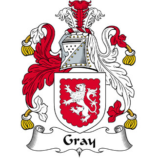 Gray Family Crest / Coat of Arms