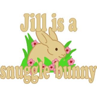 Jill is a Snuggle Bunny