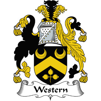 Western Family Crest