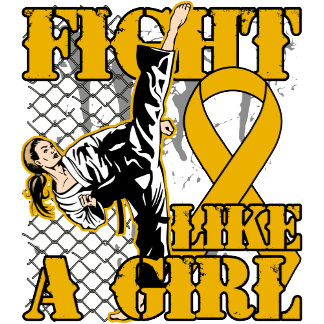Appendix Cancer Fight Like A Girl Kick