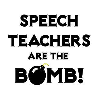 Speech Teachers Are The Bomb!