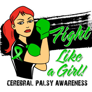 Modern Rosie Fight Like a Girl - Cerebral Palsy