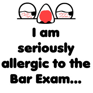 Allergic to the Bar Exam