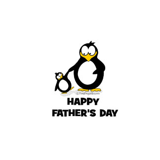 Happy Father's Day Penguin