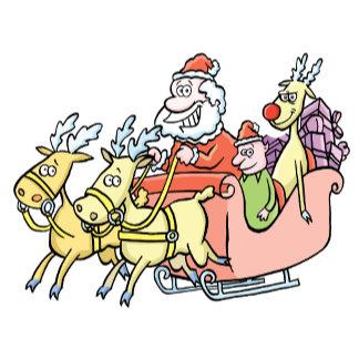 Santa Cartoons