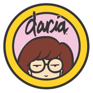 Daria Circle Logo Pink/Orange