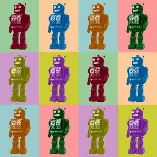 Pop Art Robots