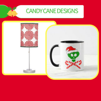 Candy Cane T-shirts, Ornaments and Gifts