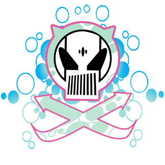 Graffiti Tech Skull