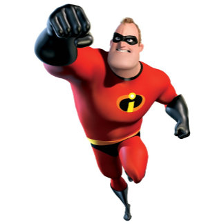 The Incredibles Mr. Incredible Flying