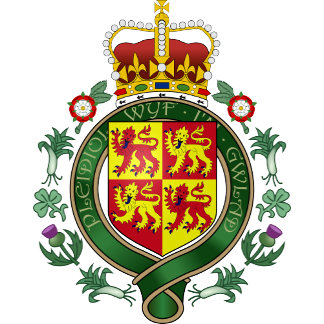 Welsh Coat of Arms detail