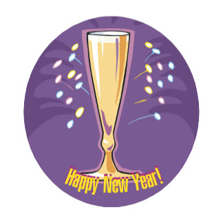 Happy New Year Champagne