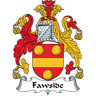 Fawside Family Crest