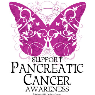 Pancreatic Cancer Butterfly