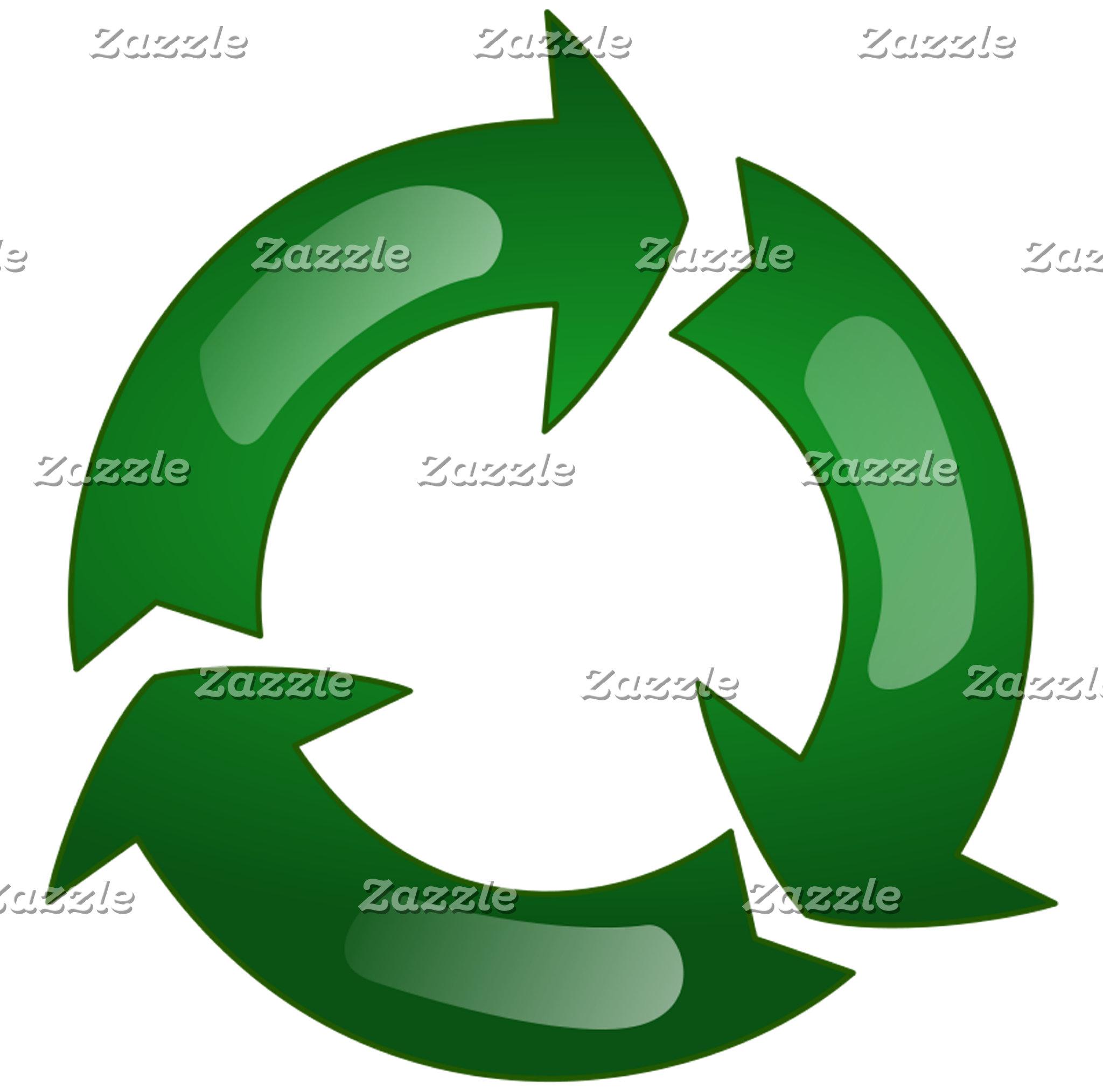 Recycling Green Circle