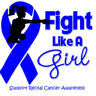 Rectal Cancer Fight Like A Girl Knock Out